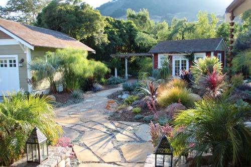 Teakholz Gartenmobel Karchern : Steinplatten im Garten – nützliche Ratschläge für die Gestaltung