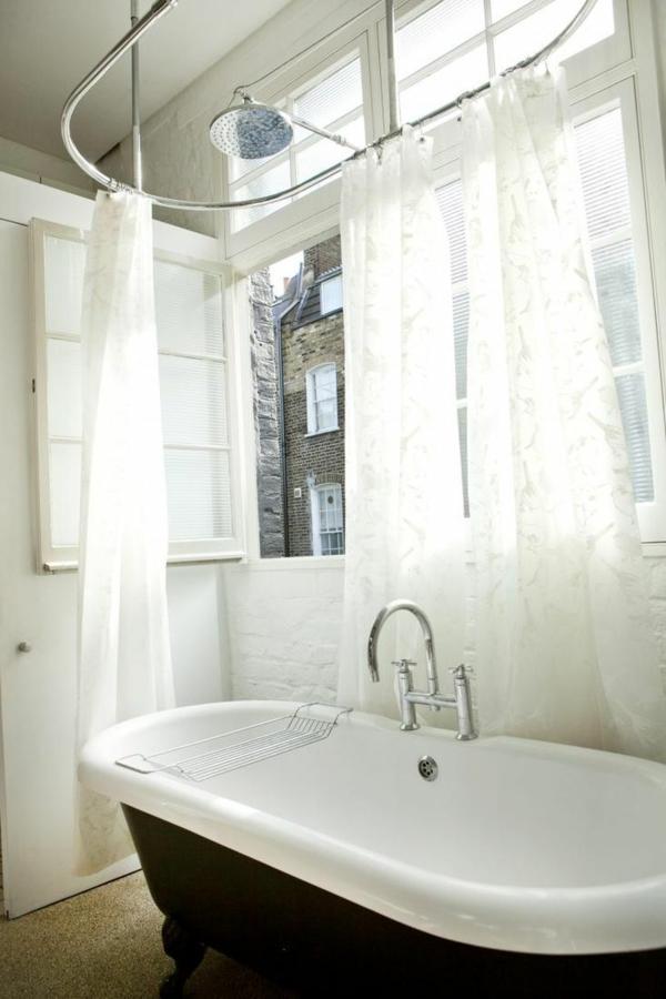 stilvolles londoner appartement vintage badewanne krallen fuß