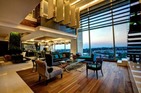 stylische wohnung von craft arquitectos in mexiko. Black Bedroom Furniture Sets. Home Design Ideas