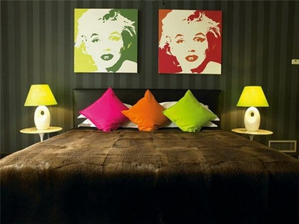 trends für retro möbel bunt neon farben