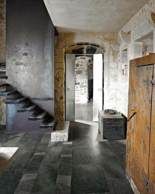 Treppe übergang Wohnung Grunge Altmodisch Attraktiv Einrichtung Idea