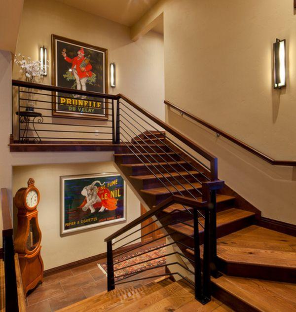 Wanddekoration mit Plakaten : eine Vintage Atmosphäre im trendy Haus