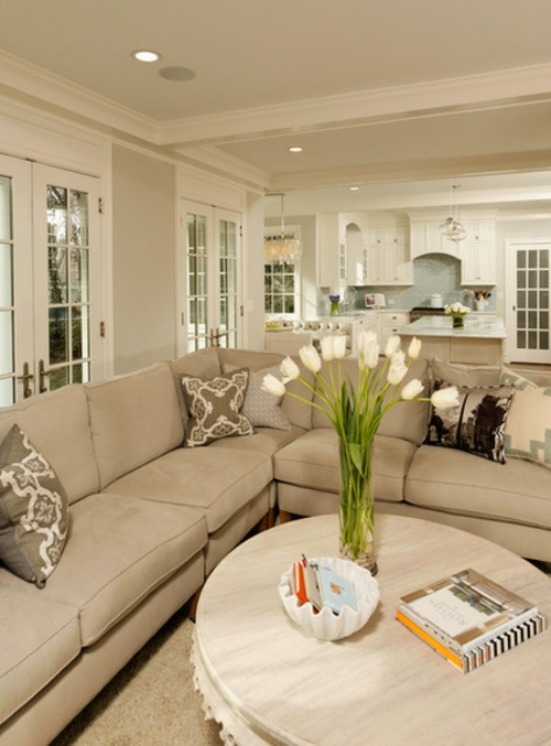 umweltfreundliche Reinigung für Ihr Haus blumen sofas wohnzimmer