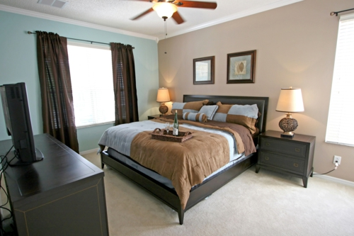 umweltfreundliche Reinigung für Ihr Haus schlafzimmer doppelbett nachttisch