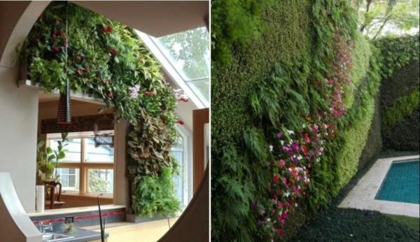 vertikale gärten mehr frische und leben