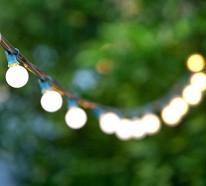 Organisieren sie eine unvergessliche gartenparty im sommer - Gartenparty beleuchtung ...