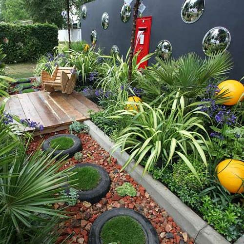 Charming 40 Coole Ideen Für Kleine Urbane Garten Designs | Gartengestaltung ...
