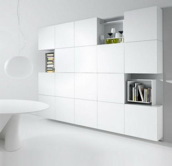 Schrank wohnzimmer modern  Schrank Weiß Modern ~ speyeder.net = Verschiedene Ideen für die ...