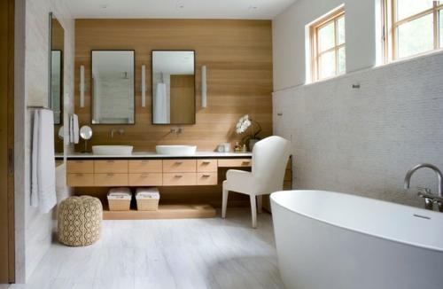 Holzwand Im Badezimmer