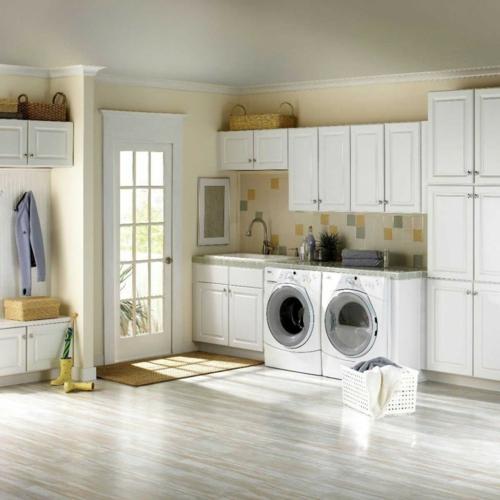 60 Beautiful Small Laundry Room Designs: Waschbecken Für Die Waschküche