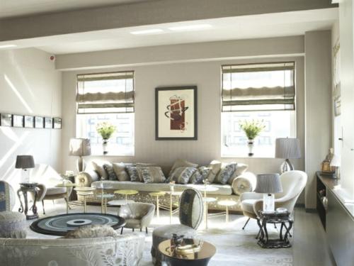 wohnzimmer designs von muriel brandolini - fabelhaft und lebensfroh - Stylisches Wohnzimmer