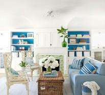 Wohnzimmer mit Strand Flair – 10 originelle Einrichtungsideen