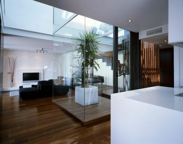 zeitgenössische luxus doppelhäuser viel glas und viel licht