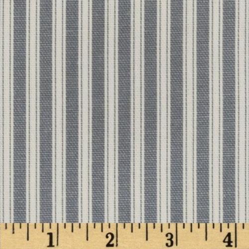 20 Blau-Weiß gemusterte Dekostoffe, ideal geeignet für ein