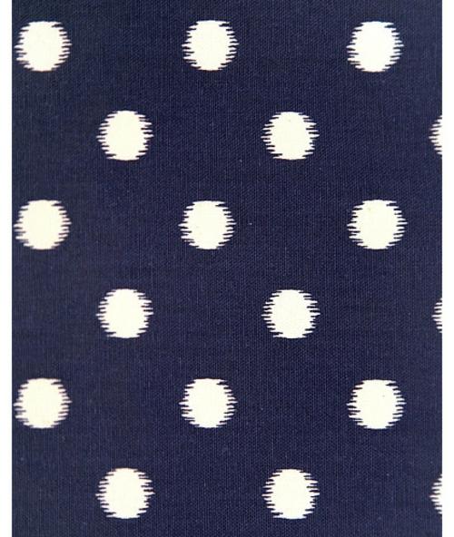 Blau-Weiß gemusterte Dekostoffe interessant designt