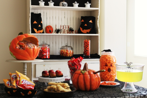 Coole Halloween Deko Ideen ambiente interior design
