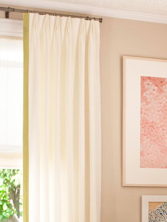 Coole Wohntipps Wohnzimmer Dekoration gardinen gemälde wand