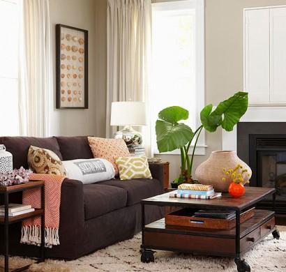 Coole Praktische Wohnzimmer Designs