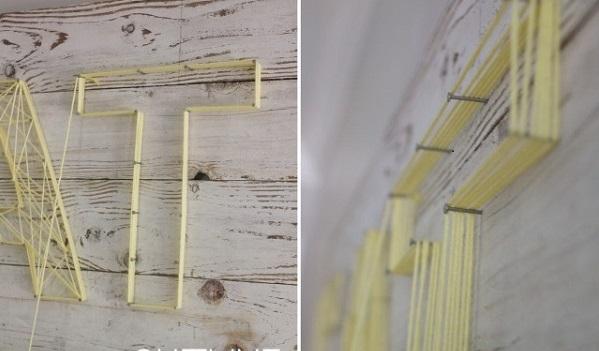 Wandverkleidung Holz Selber Machen ~ Die populäre Schnur Technik setzt den Schwerpunkt in dieser Küche