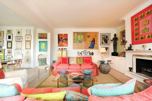 Wohnzimmer gemütlicher gestalten  Das Wohnzimmer neu gestalten - Möbel, Designs und Einrichtungsideen