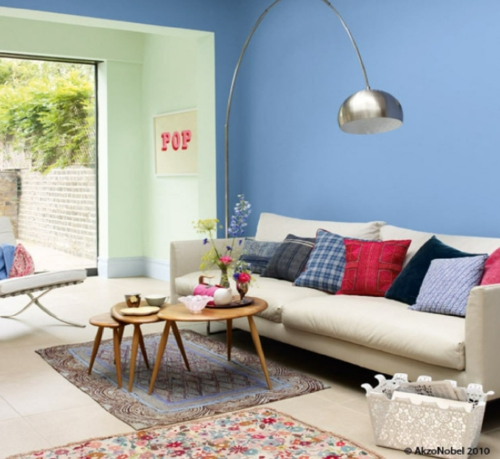 Das Wohnzimmer neu gestalten - Möbel, Designs und ...