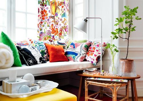 emejing wohnzimmer weis bunt pictures - ideas & design ... - Wohnzimmer Weis Bunt