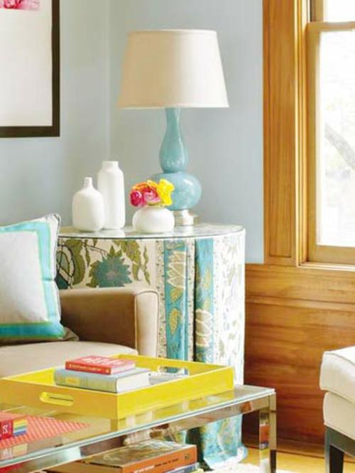 wohnzimmer wände gestalten farbe ? dumss.com - Wohnzimmer Gestalten Farben Ideen