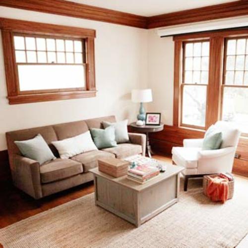 Das Wohnzimmer Neu Gestalten Möbel Designs Sofas Kissen Tisch