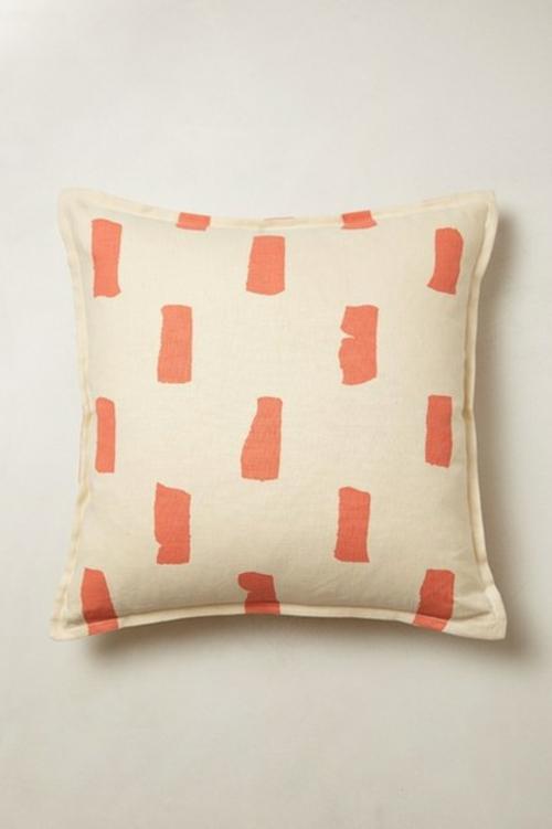 Deko Ideen und Möbel fürs Kinderzimmer wurfkissen orange motive