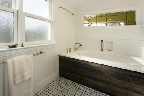 Design und Mode der 70er kleidung idee badezimmer wanne eingebaut fußboden