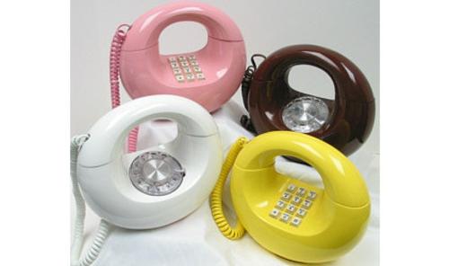 Design und Mode der 70er kleidung idee geräte telefon bunt glanzvoll