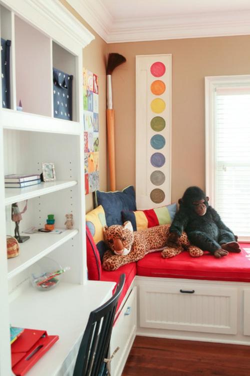 Wandfarben Farbpalette Kinderzimmer : Die richtige Farbpalette und Wandfarben originell palette pinsel