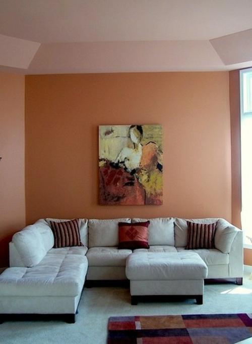 Die richtige Farbpalette und Wandfarben warme atmosphäre gemälde