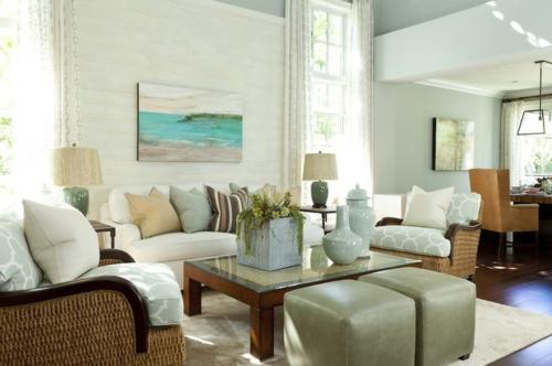 wohnzimmer blau braun | wohnzimmer ideen - Wohnzimmer