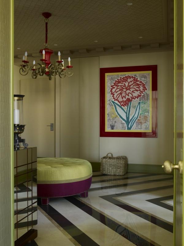 Eklektisches Apartment mit klassischem Interieur in Moskau