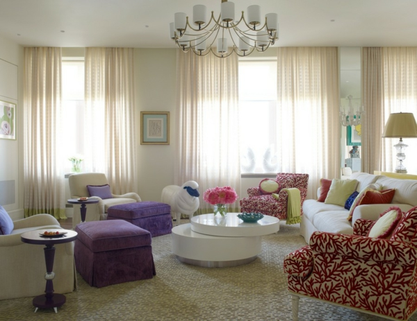 design : moderne wohnzimmer gardinen ~ inspirierende bilder von ... - Moderne Wohnzimmer Gardinen