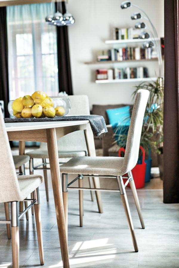 Apartment mit maßgefertigtem Interior Design essbereich