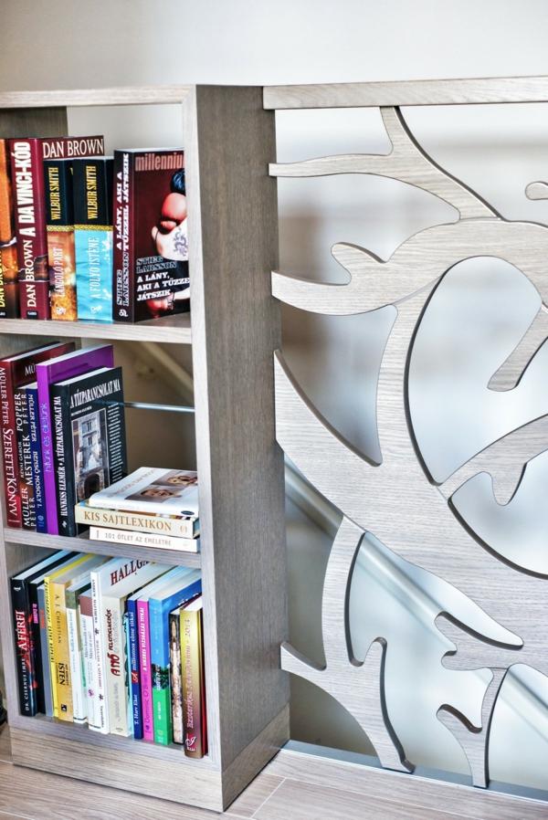 Apartment mit maßgefertigtem Interior Design geländer