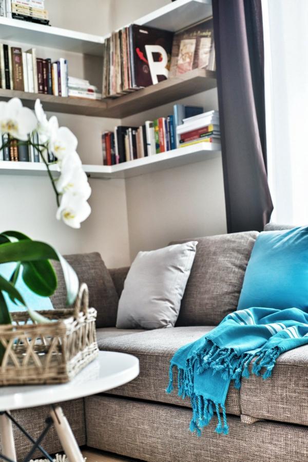 Apartment mit maßgefertigtem Interior Design traditionell sofa