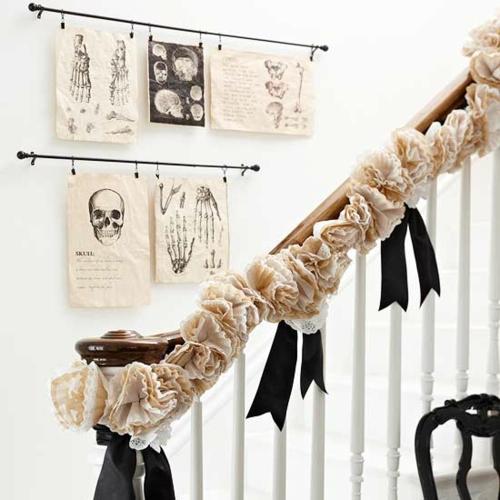 gespenstige dekoideen zu halloween zum selbermachen. Black Bedroom Furniture Sets. Home Design Ideas