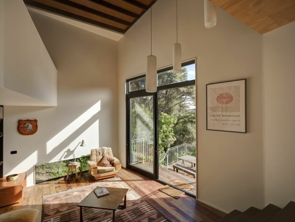 Herrliche Residenz mit differenzierten Wohnflächen schiebeüren hängelampen