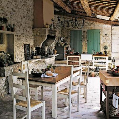 12 praktische Ideen für Küchen Design mit eingebautem Grill | {Französische küche einrichtung 8}