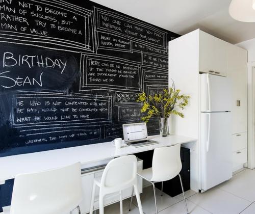 sch ne ideen f r klassische praktische kreidetafel zu hause. Black Bedroom Furniture Sets. Home Design Ideas