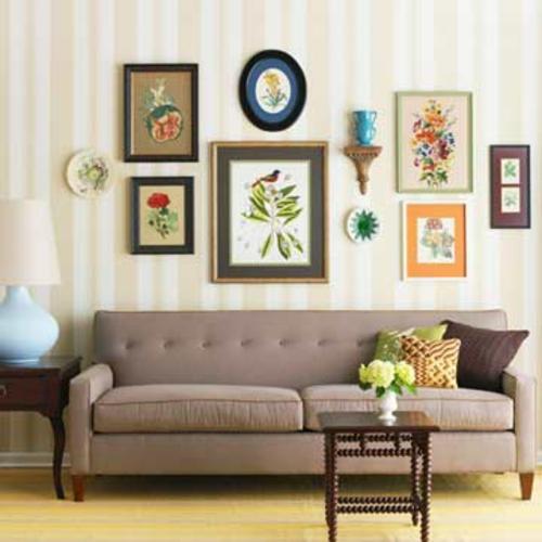 design : einrichtungsideen wohnzimmer braun ~ inspirierende bilder ...