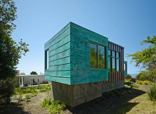 Moderner Materialismus: Kupfer in der Architektur verwenden