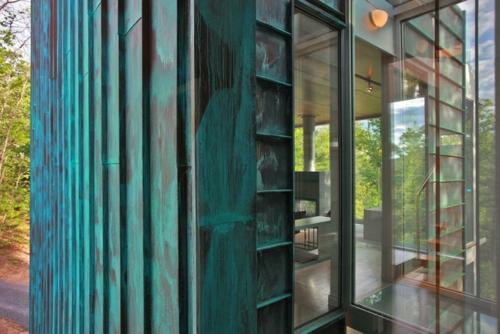 Moderner materialismus kupfer in der architektur verwenden for Edelrost auf kupfer