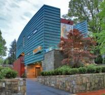 Edelrost Auf Kupfer moderner materialismus kupfer in der architektur verwenden