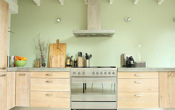Küchenzubehör als Dekoration holz möbel schubladen obstschale
