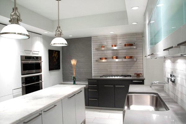 Praktisches Küchenzubehör als Dekoration spüle modern design