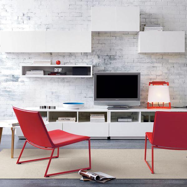rote m bel designs wohnideen f r ihre wohnung. Black Bedroom Furniture Sets. Home Design Ideas